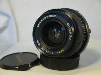 ' 28mm   ' 2.8   28mm Minolta MD Fit Prime    Wide Angle Lens £14.99